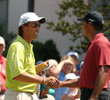 Stephen Ames and Tiger Woods