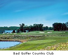 Bad Golfer Golf Club