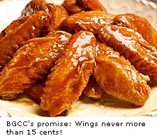Bad Golfer Country Club's wings