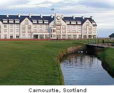 Carnoustie in Scotland