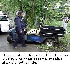 Golf Cart Stolen
