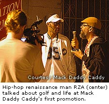 Hip-hop renaissance man RZA