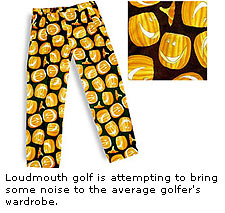 Noisy pants by Loudmouth Golf