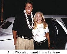 Phil Mickelson and Amy McBride